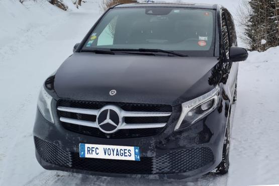 VTC Chamonix avec chauffeur prive